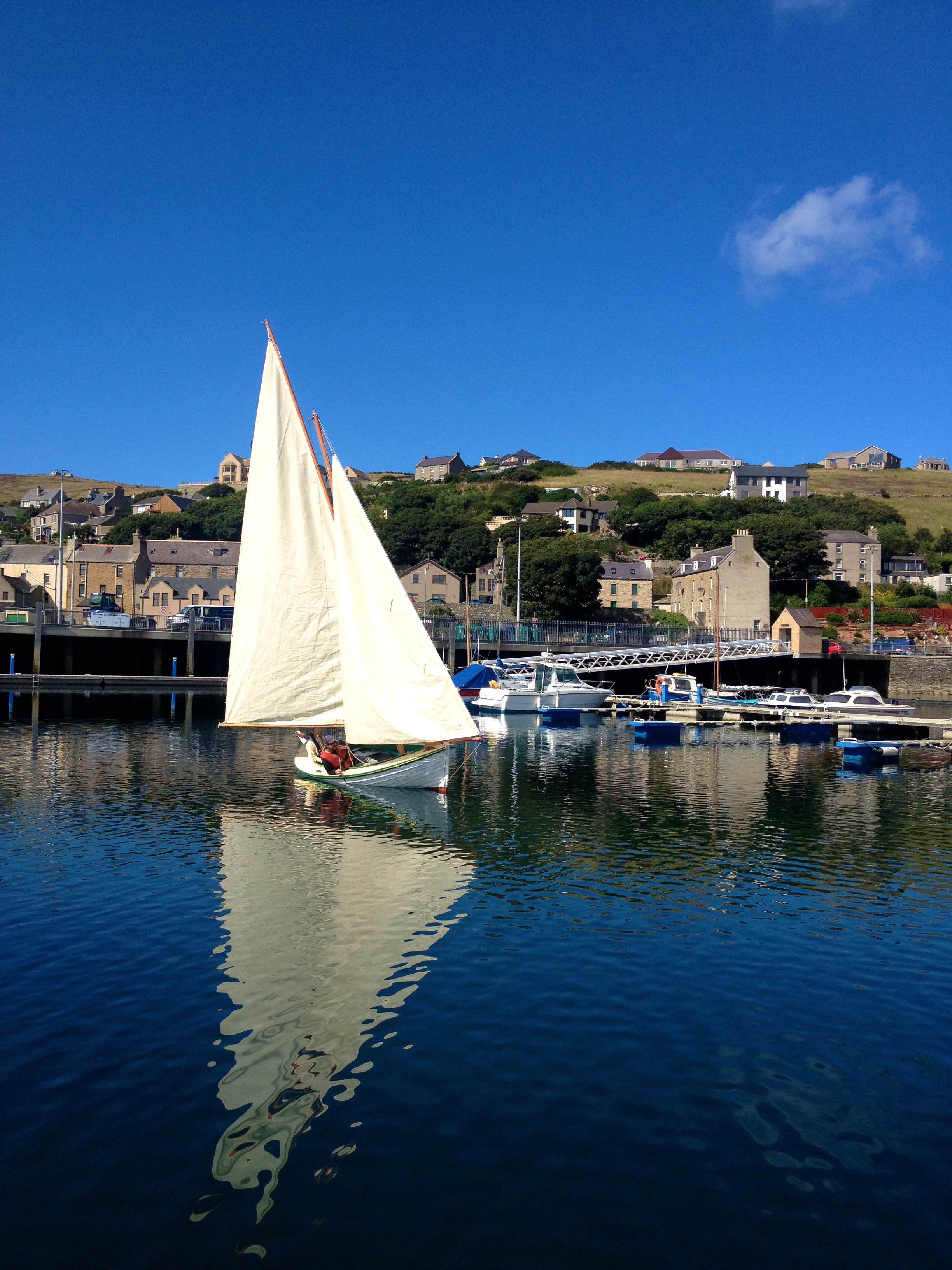 Sailing in Stromness